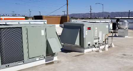 Phoenix Roof top HVAC unit after fixing noises