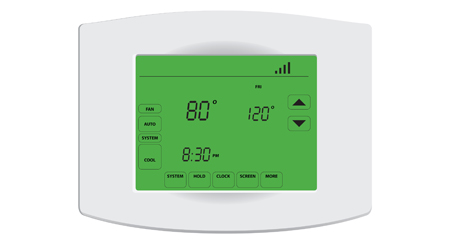 example of programmable thermostat