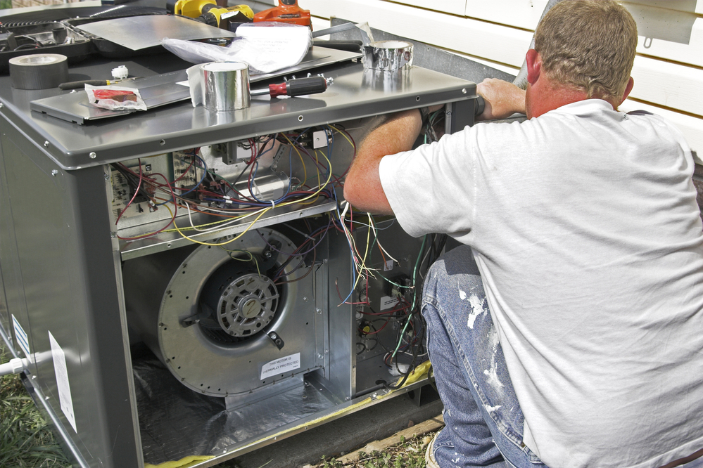 Air-Conditioner-Repaired-by-Technician